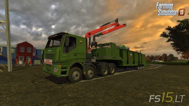Iveco-Stralis-V8-Low-Cab-and-Woodchipper