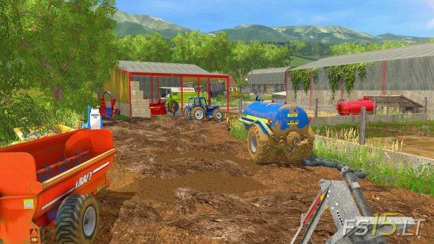 Cow Farm | FS15 LT - Farming Simulator 2015 (FS 15) mods