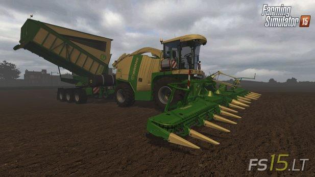 Krone | FS15 LT - Farming Simulator 2015 (FS 15) mods