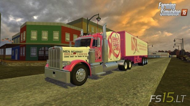 Peterbilt-388-Breast-Cancer