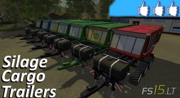 Silage Trailer | FS15 LT - Farming Simulator 2015 (FS 15) mods