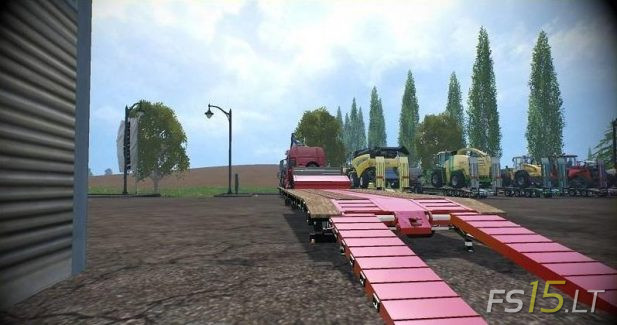Low Loader Galtrailer SC