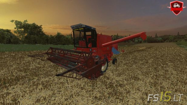 Old Harvester | FS15 LT - Farming Simulator 2015 (FS 15) mods